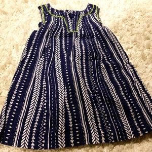 Cherokee toddler woven dress